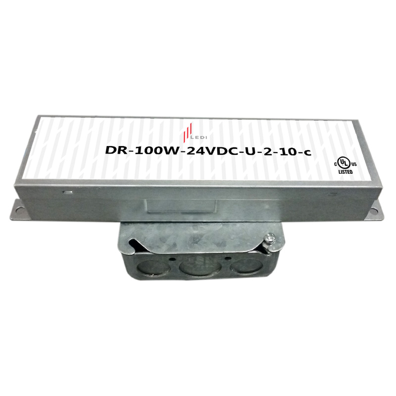 100W Electronic 120-277VAC 0-10V Dimmable UL Listed Driver