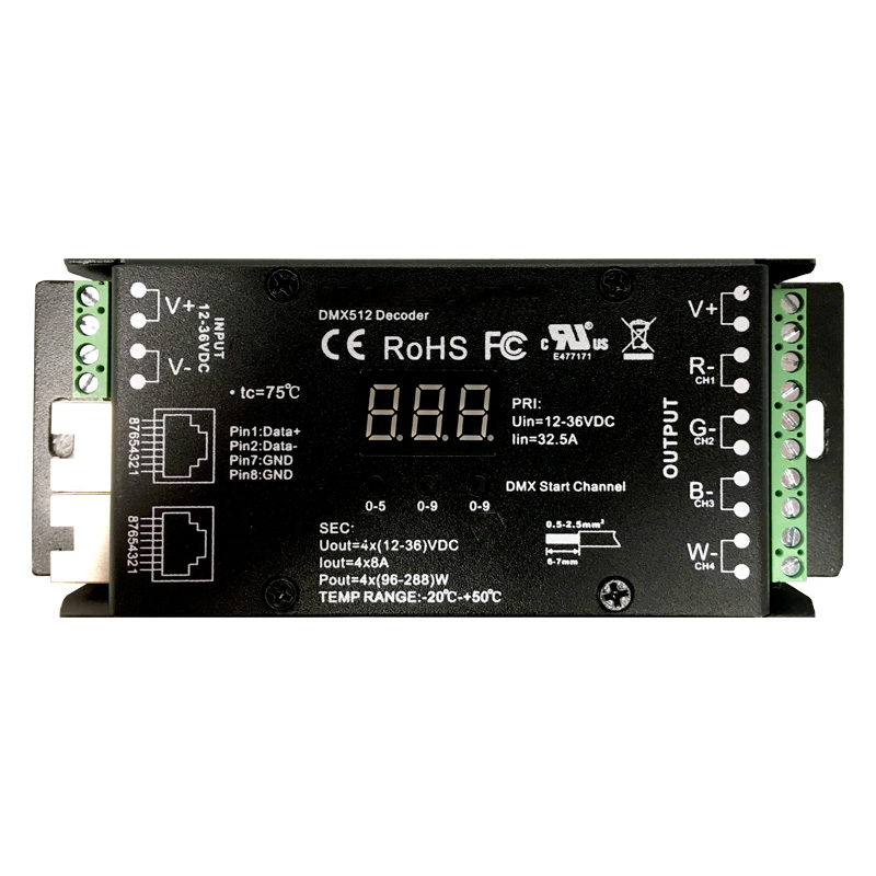 RGB DMX Decoder Product