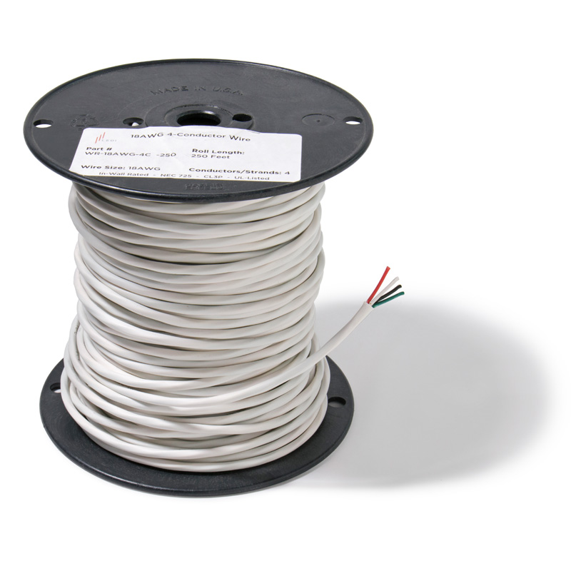 4 Conductor Low Voltage Wire