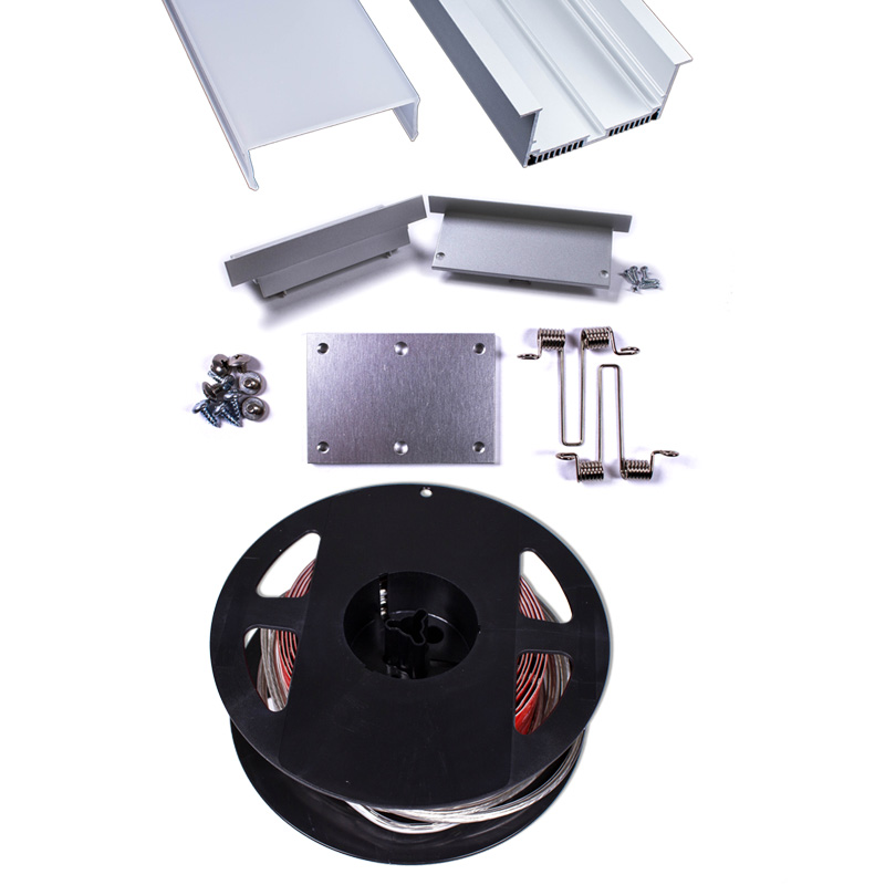 Quantum 2 RECESSED 3513 Fixture Kit